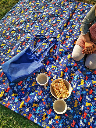 Manta picnic Gatitos