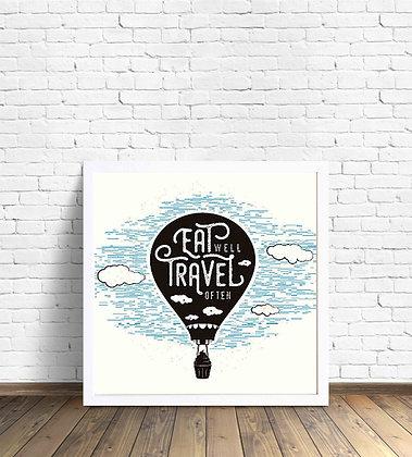 Eat well travel often / Desde 20.000