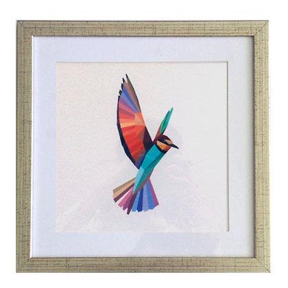 Serie pájaros geométricos 2