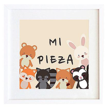 Personalizable - Animales Mi pieza / Desde 20.000