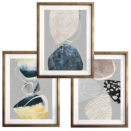 Formas orgánicas (3 diseños disponibles) / Desde 40.000 c/u