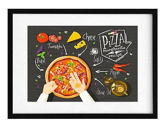 Preparando pizza / Desde 23.000