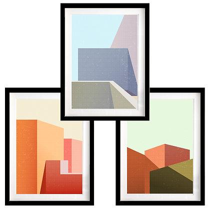 Edificaciones (3 diseños disponibles) / Desde 35.000 c/u