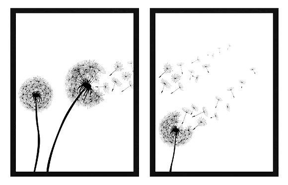 Dandelion (2 diseños disponibles) / Desde 23.000 c/u