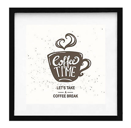 Lets take a coffee break blanco / Desde 20.000