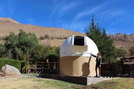Vista hacia el Observatorio