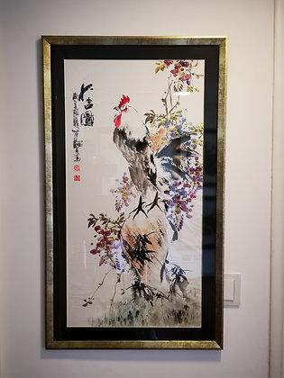 Pintura Oriental hecha a mano II
