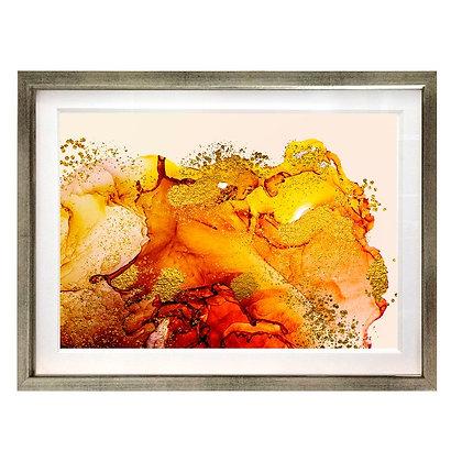 Abstracción en naranjo XL / Desde 35.000 c/u
