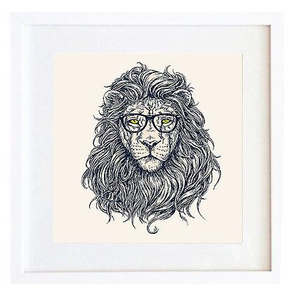 León con anteojos / Desde 20.000