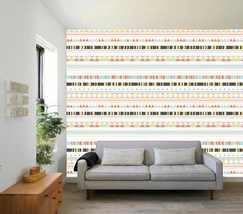 Papel Mural Líneas tribales