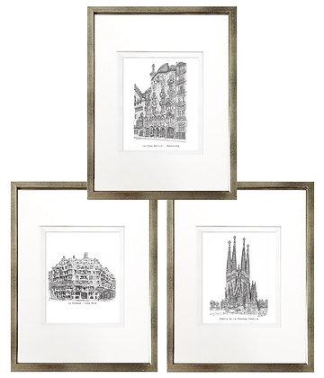 Gaudí (3 diseños disponibles) / Desde 20.000 c/u