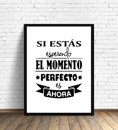 El momento perfecto / Desde 20.000