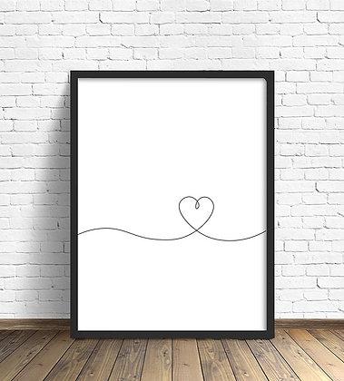 Corazón línea / Desde 20.000