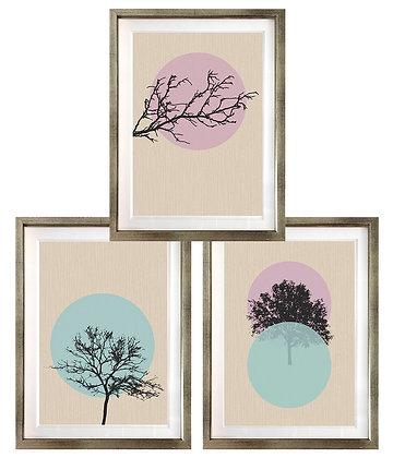 Siluetas minimalistas (3 diseños disponibles) / Desde 20.000 c/u