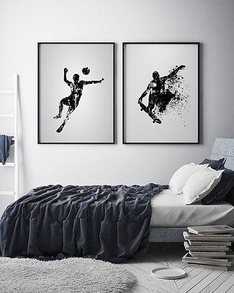 Skate y Fútbol / Desde 20.000 c/u