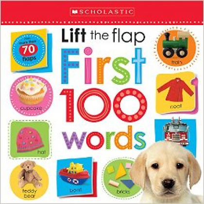 Lift the flap - First 100 words