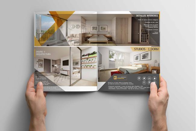 Brochure para Edificio Garcia Reyes