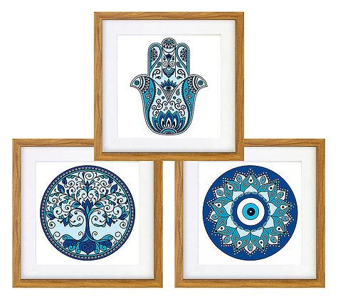 Símbolos turcos (3 diseños disponibles) / Desde 20.000 c/u
