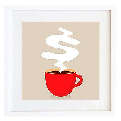 Taza café roja / Desde 20.000