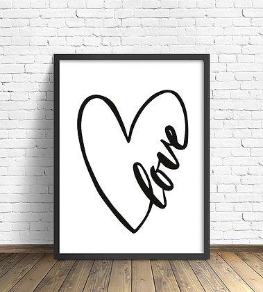 Love dibujo / Desde 25.000