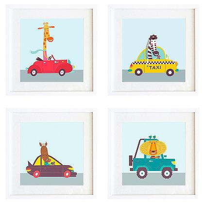 Autos (4 diseños disponibles) / Desde 20.000 c/u