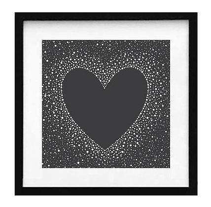 Corazón negro / Desde 20.000