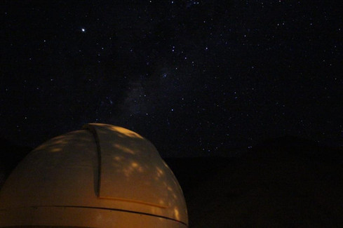 Observatorio de noche