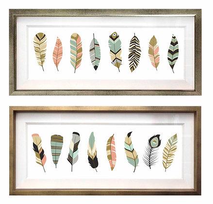 Plumas apaisadas (4 diseños disponibles) / Desde 26.000 c/u