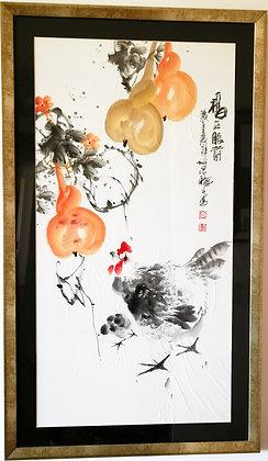 Pintura Oriental hecha a mano I