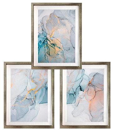 Abstracción acuarelada azul (3 diseños disponibles) / Desde 35.000 c