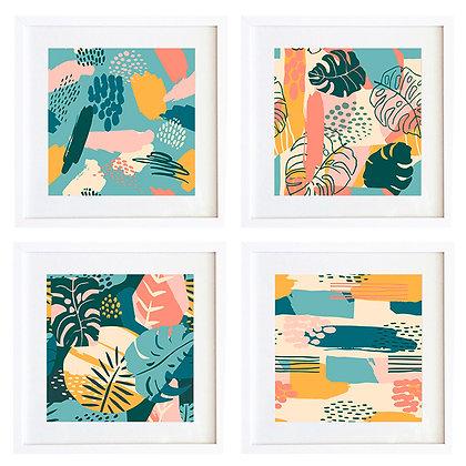 Trópico Abstracto (4 diseños disponibles) / Desde 20.000