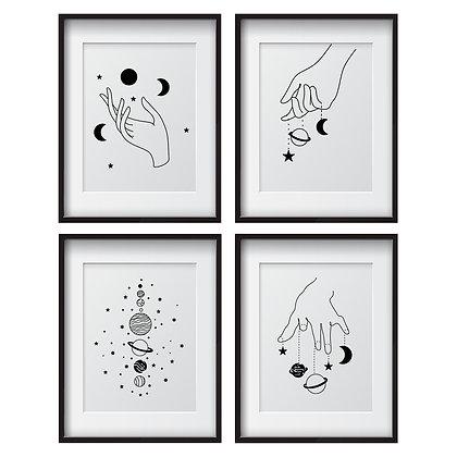 Cosmos (4 diseños disponibles) / Desde 20.000 c/u