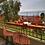 Thumbnail: Pack Terraza Bar + 2 Sillas mimbre y fierro