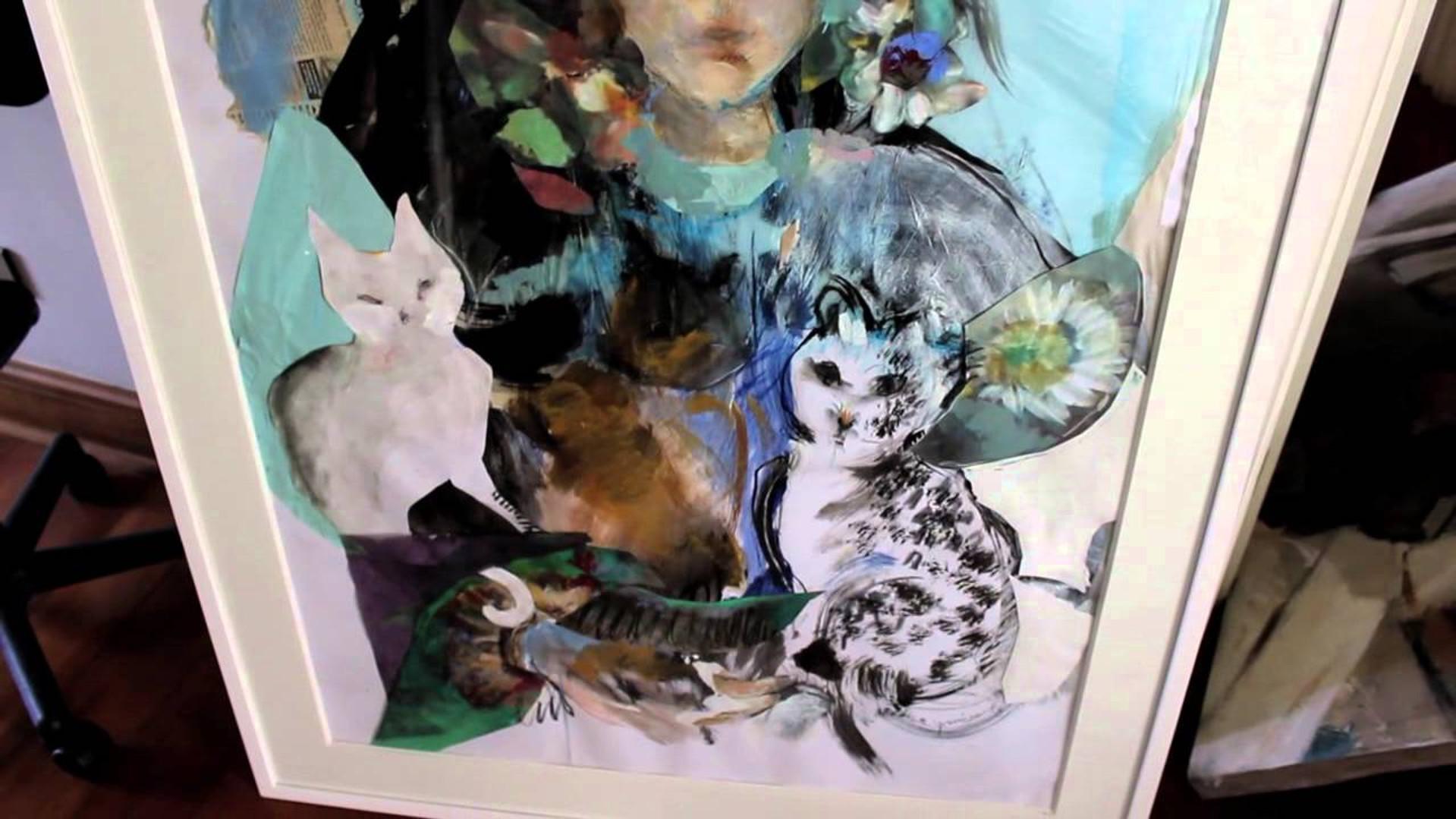 En el taller de Luz María Yrarrázaval