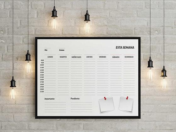 Planner semanal Oficina / Desde 25.000 c/u