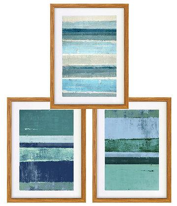 Abstracción pinturas azul (3 diseños disponibles) / Desde 20.000 c/u