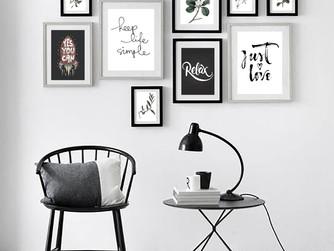 Consejos para armar tu propia composición de cuadros