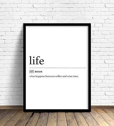 Life / Desde 25.000