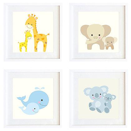 Sweet animals (6 diseños disponibles) / Desde 20.000 c/u
