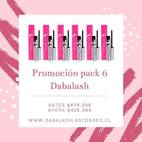 Pack 6 Dabalash precio especial
