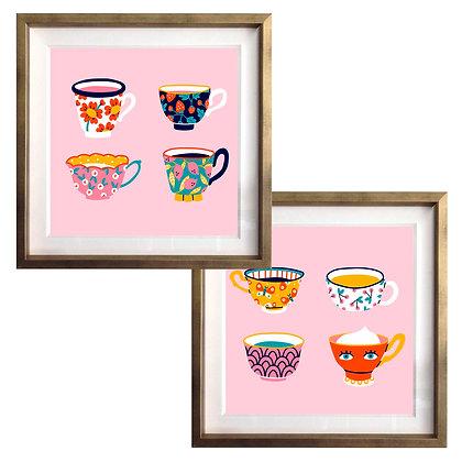 Tazas color (2 diseños disponibles) / Desde 20.000 c/u