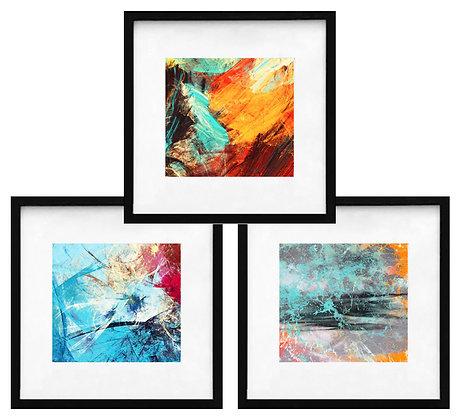 Abstractos modernos (3 diseños disponibles) / Desde 20.000 c/u