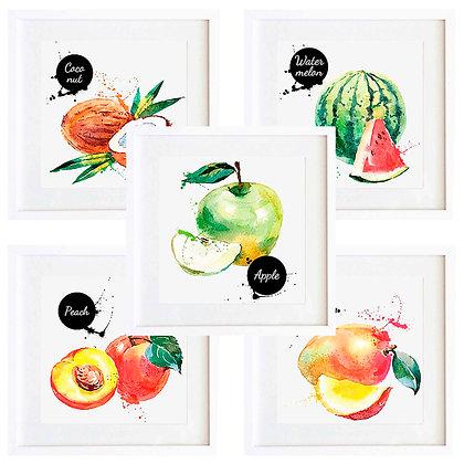Dibujos comida (6 diseños disponibles) / Desde 20.000 c/u