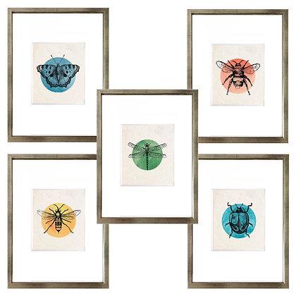 Insectos círculo (6 diseños disponibles) / Desde $20.000