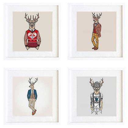 Fashion animals (7 diseños disponibles) / Desde 20.000 c/u