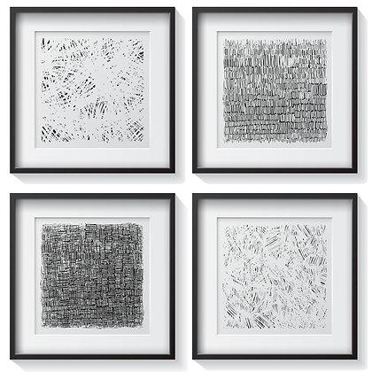Trazos abstractos (4 diseños disponibles) / Desde 20.000 c/u