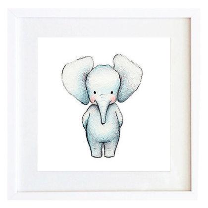 Elefante acuarela / Desde 20.000