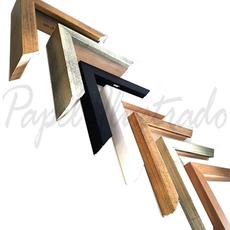 Vista general marcos simples y encajonados