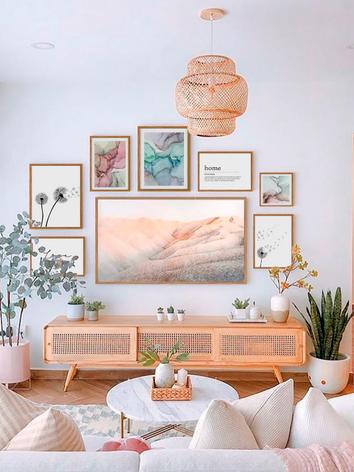 Ideas para decorar alrededor de la TV