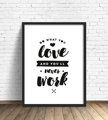 Do what you love / Desde 20.000